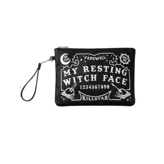 Resting Witch Face Make Up Bag