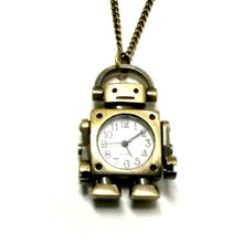 Robot Watch Necklace