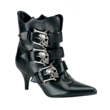 Skull Buckle Boots