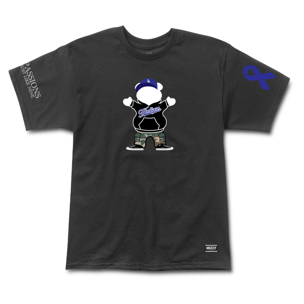 Hooligan OG Bear Tee - Black
