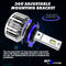 9007 T2 Series LED Headlight Bulbs 8000 Lumens