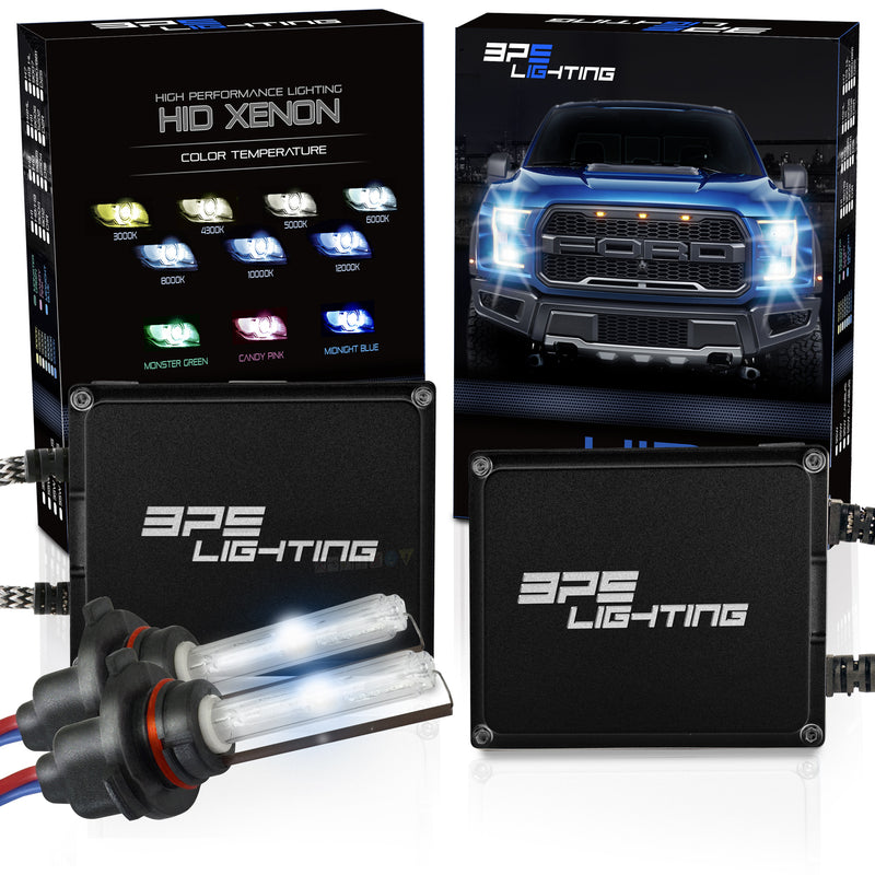 9005 Terminator Series 55W Canbus HID Xenon Headlight Kit 4300K to 12000K