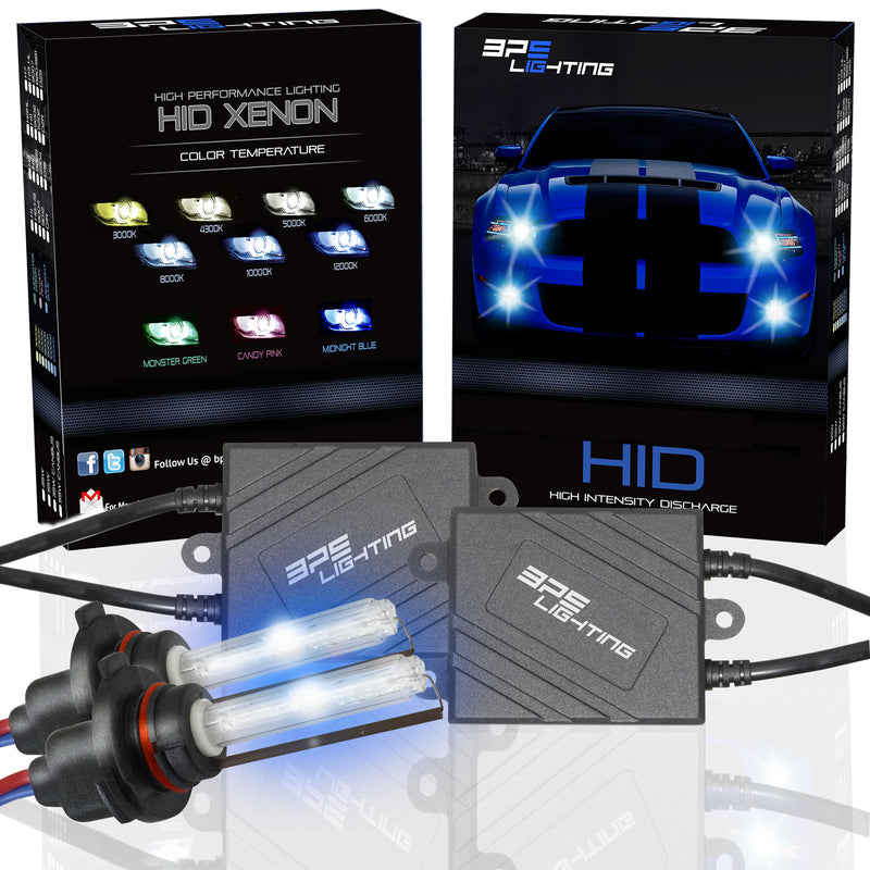 5202 Black Series 35W HID Xenon Headlight Kit 4300K to 12000K