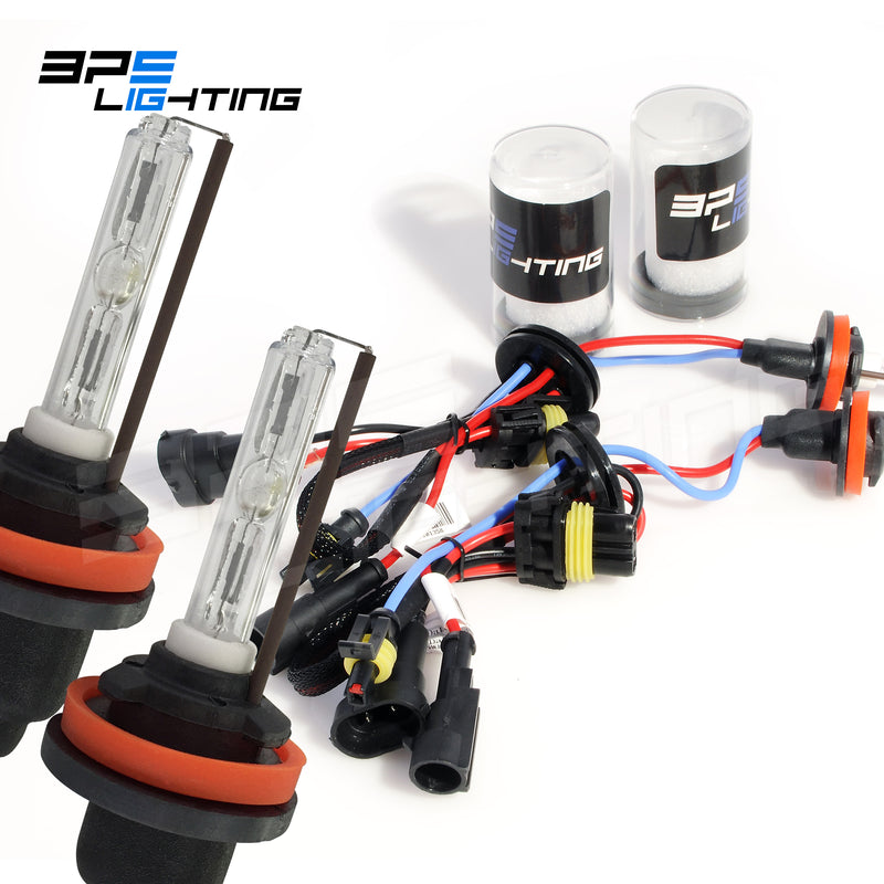 H11 HID Xenon Bulbs Premium With Ceramic Base 35w