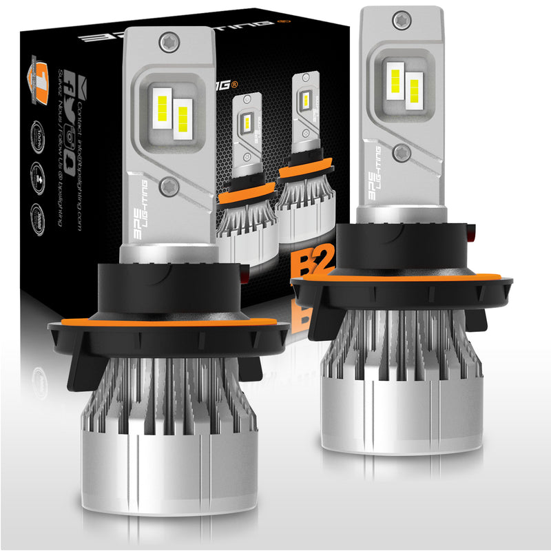 H13 / 9008 B2 Series LED Headlight Bulbs 12000 Lumens