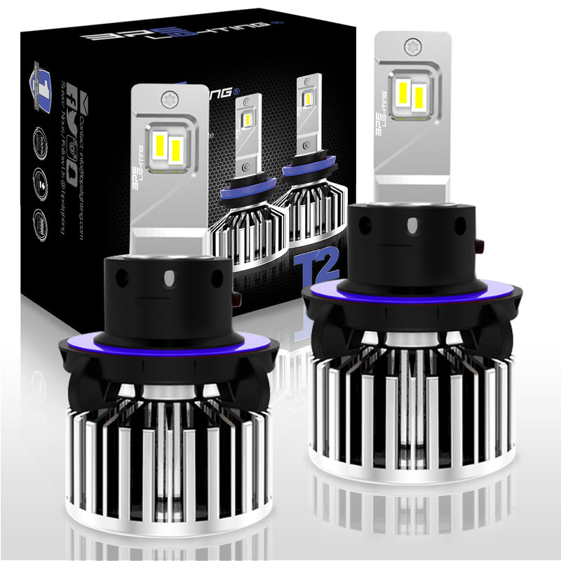 T2 Series LED Headlight Bulbs 8000 Lumens