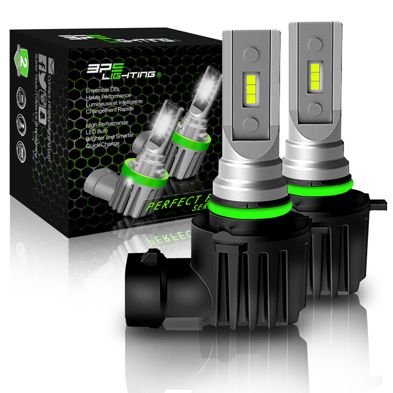 9012 / HIR2 Perfect Fit Series LED Headlight Bulbs 8000 Lumens