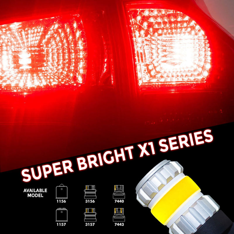 X1 Series LED Bulbs H1 3200 Lumens