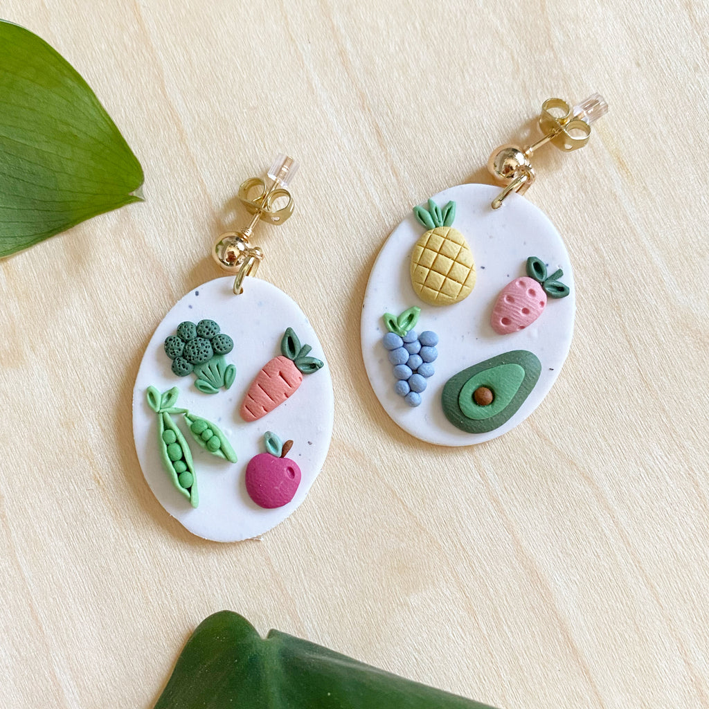 CELLS (animal and plant) earrings