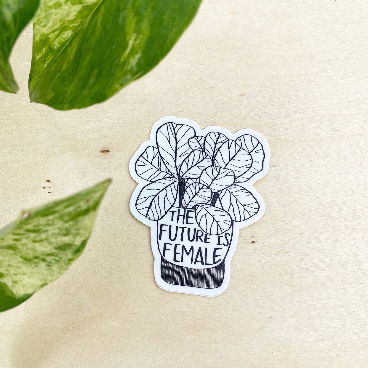 The Future is Female - vinyl sticker