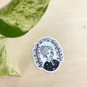 Ms. Frizzle - vinyl sticker