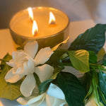 Limited Edition Classic Gold Gardenia Palo Santo Candle