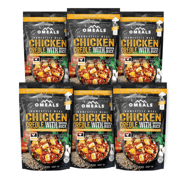 OMEALS Chicken Creole 6 pack