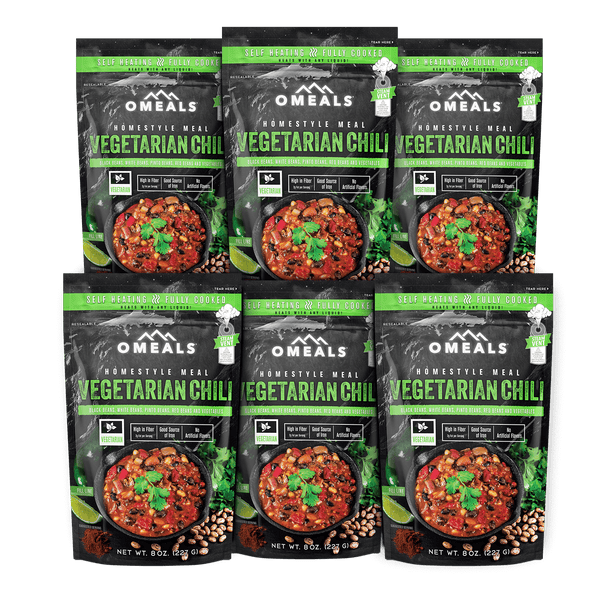 OMEALS Vegetarian Chili 6 pack