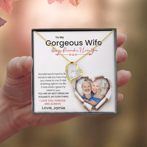 Always Remember I Love You - Husband To Wife Gift