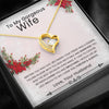 Forever Love Heart Necklace - Best Husband To Wife Gift This Christmas