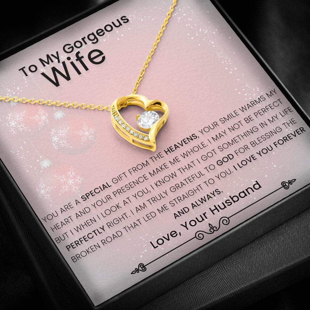 Forever Love Necklace To My Wife