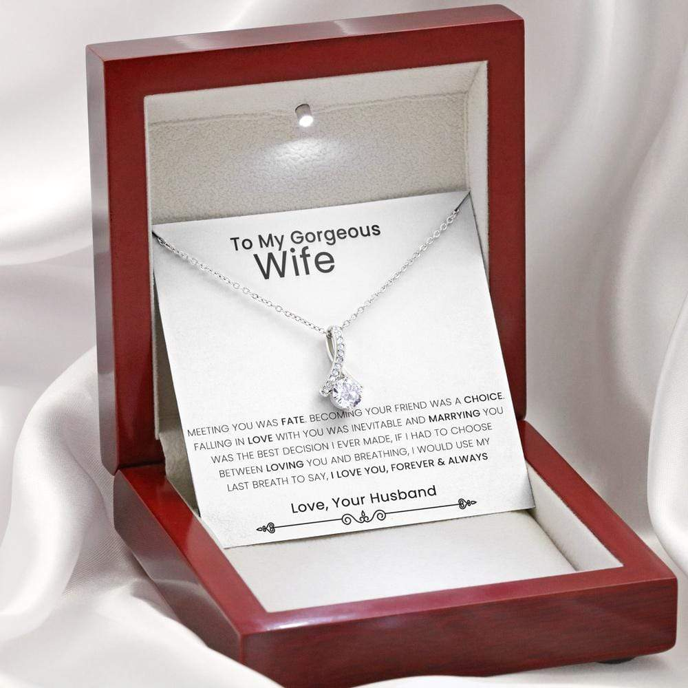 Husband To Wife Alluring Necklace