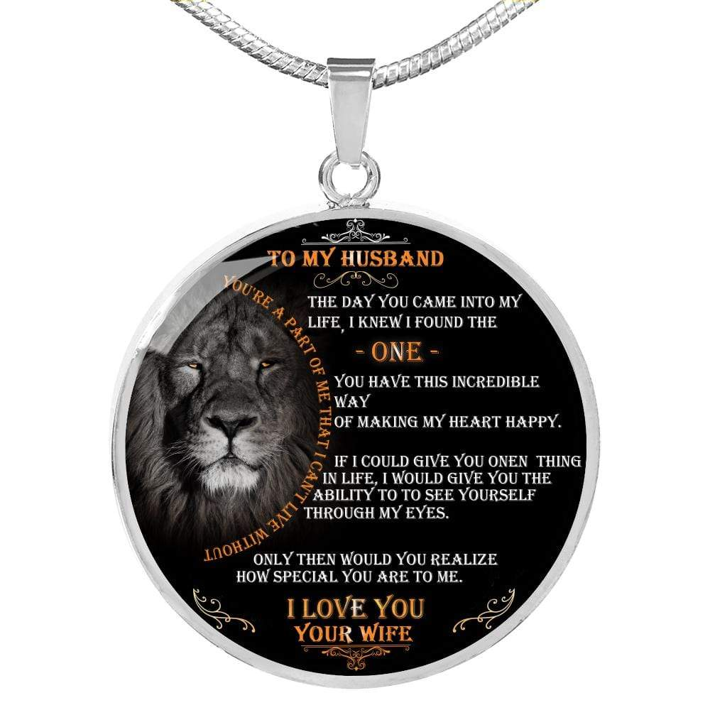 The Lion Necklace for My Husband - I Knew I Found the One from Wife