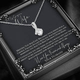To My Wife - Falling In Love With You Was Inevitable Allure Pendant