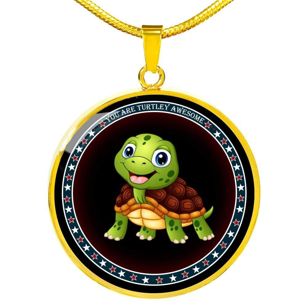 """You Are Turtley Awesome"" - Luxury Necklace - Limited Edition"