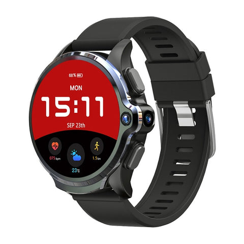 Prime Face ID Dual Camera 4G Smart Watch  w/Free Strap