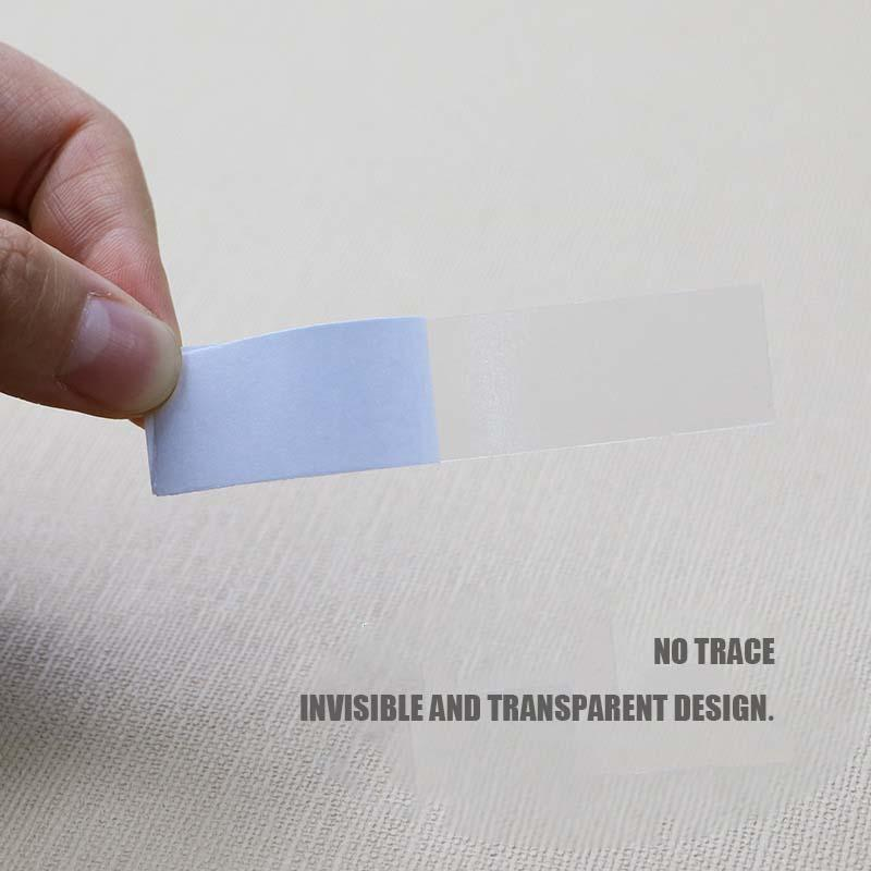 Anti-Lighting Chest Stickers Transparent Double-Sided Tape