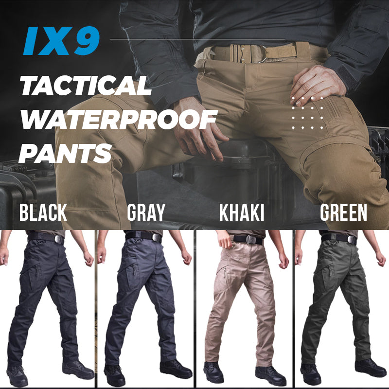 (50% OFF&Free gift)Tactical Waterproof Pants