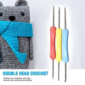 Double Head Crochet(3 PCS)