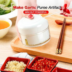 Make Garlic Puree Artifact