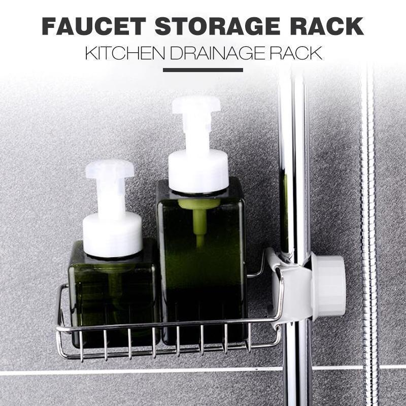 Sink Faucet Rack Shelf