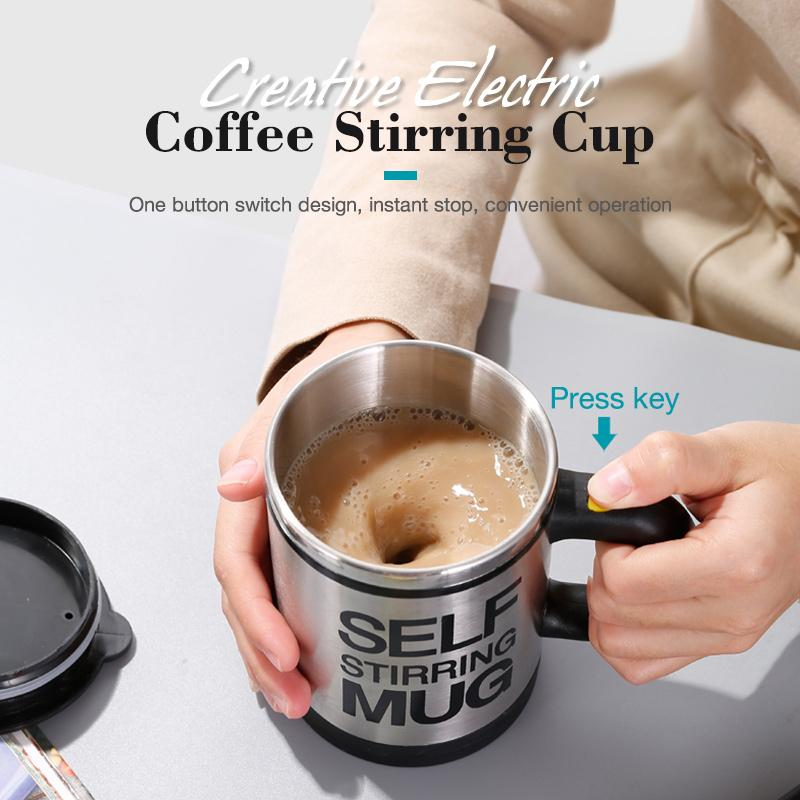 Creative Electric Coffee Stirring Cup