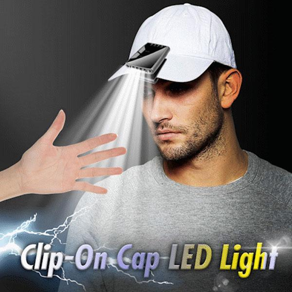 Clip-On Cap LED Light