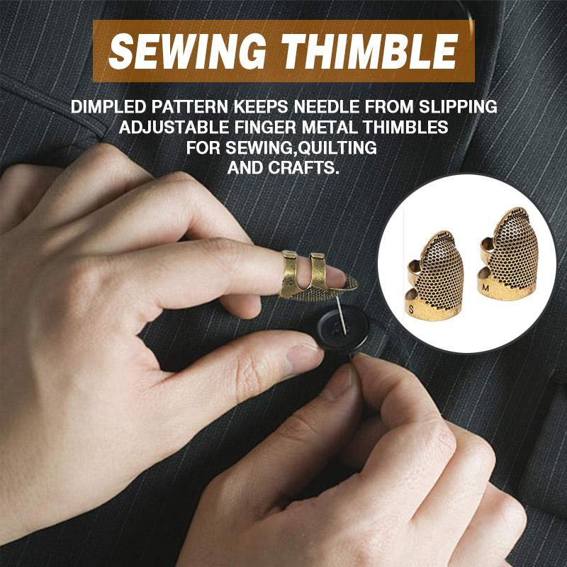 2 Pack Sewing Thimble Finger Protector