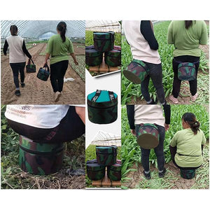 Ultra-light Wearable Gardening Stool