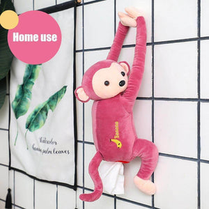 Monkey Hanging Tissue Box