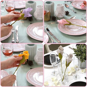 Blooming Napkin Clip (4pcs/Set)