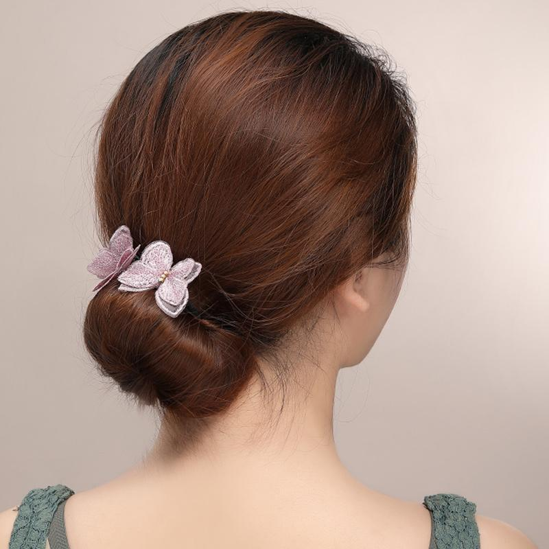 Elegant Butterfly Hair Bun Maker(50% OFF!!)