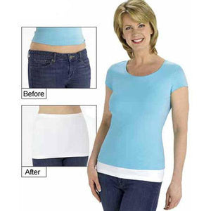 Seamless Women Shirt Layering Extender