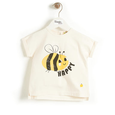Bee Happy T-Shirt - Little in Modern