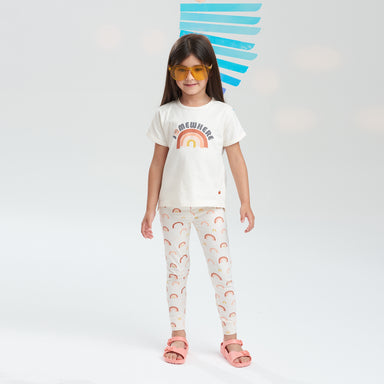 Rainbow T-Shirt - Little in Modern