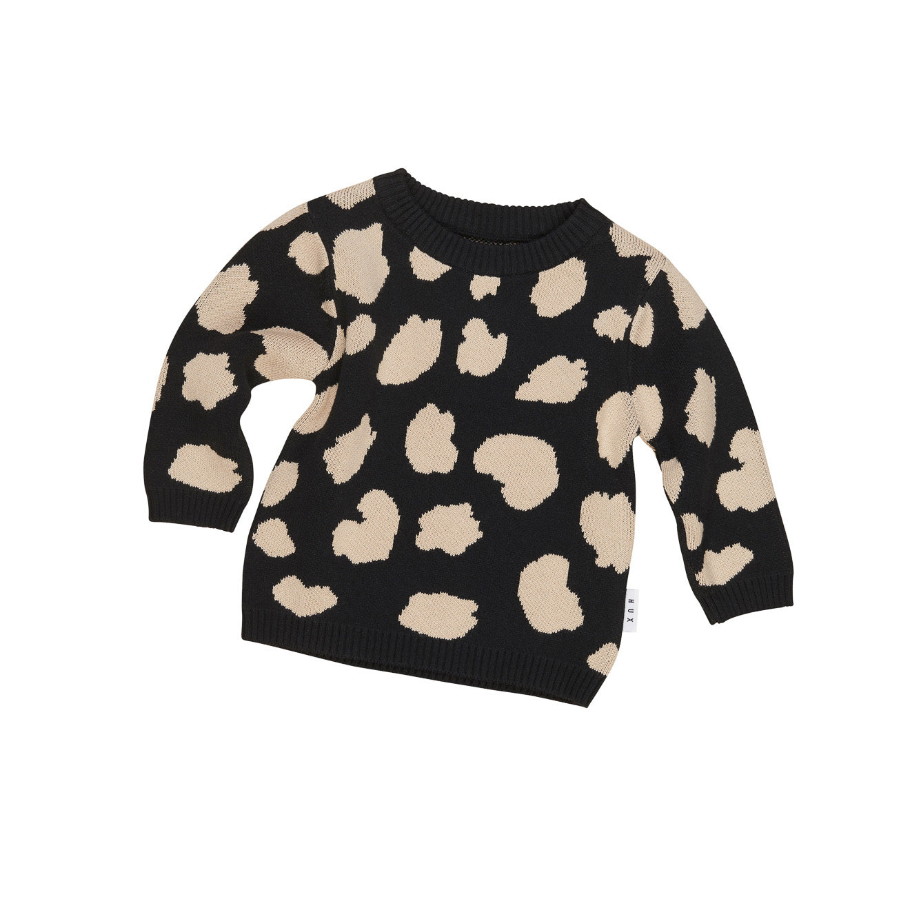 Animal Spot Knit Sweater