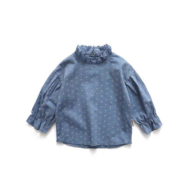 Leaf Blouse - Little in Modern