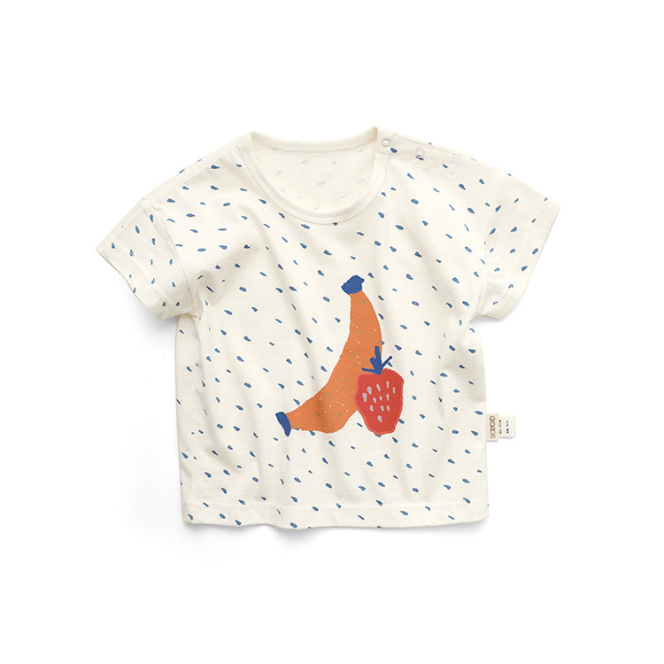 Banana Strawberry Tee - Little in Modern