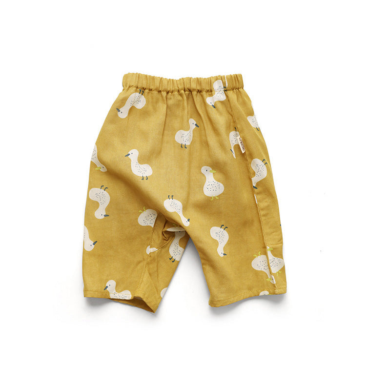 Muslin Duck Pant - Little in Modern