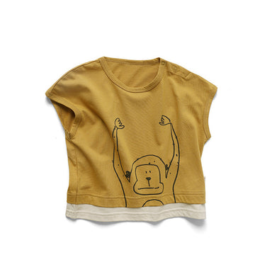 Monkey Tee - Little in Modern