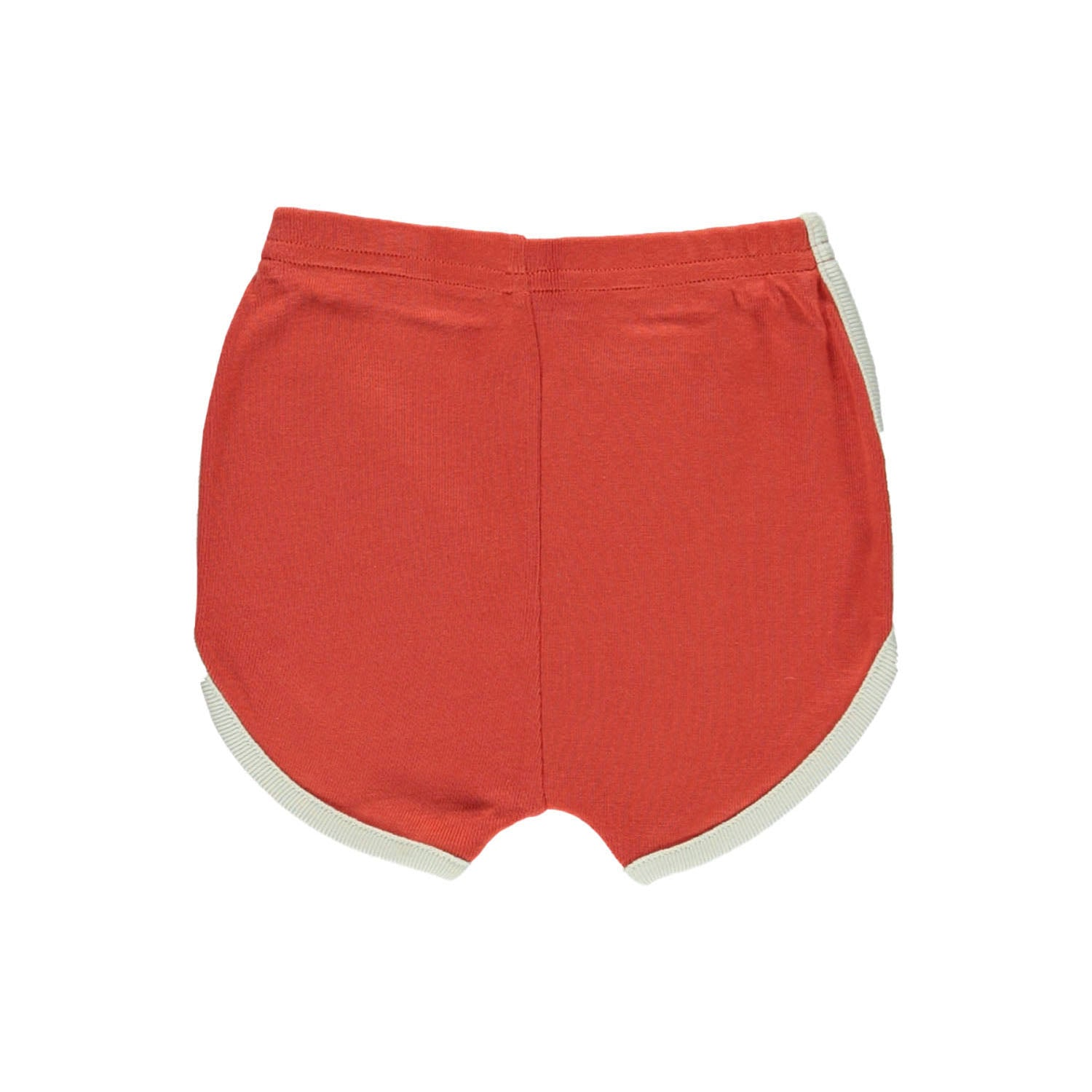 Brick Red Track Short