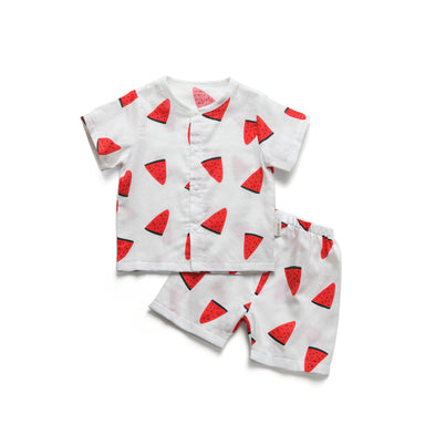 Watermelon Muslin Set - Little in Modern