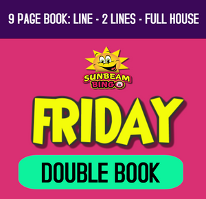 Fri 16 Apr 8pm  -  Double 9 Page Book