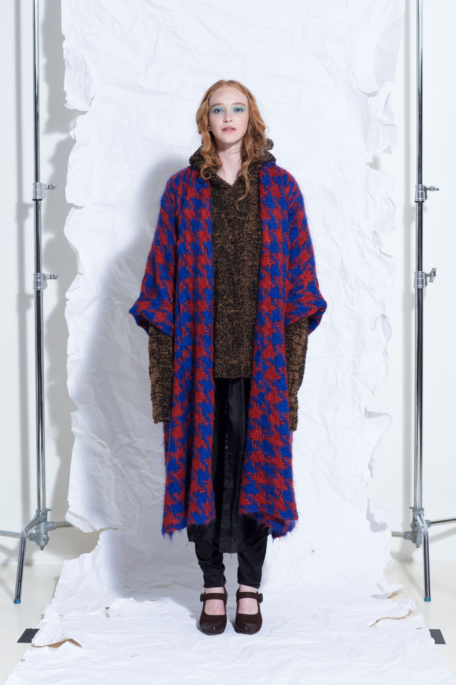 Amano super long line handloom coat